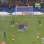 Marcus Rashford's long-range free-kick vs Chelsea