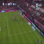 Newell's Old Boys 0 - [4] Gimnasia y Esgrima L.P.| 56' M. García | Olympic goal