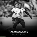 20 year old Midfielder Tarania Clarke dead after getting stabbed in Kingston, Jamacia. She made her international debut in September.