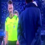 Napoli defender Lorenzo Tonelli offered the match ball to the referee after his horrendous VAR decision cost his side 2 points.
