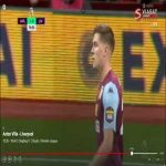 Clear Aston Villa handball not checked for VAR