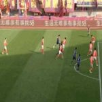 In the last match of the season, Yaya Toure was sent off just 10 seconds into the game due to a retaliatory kick. Qingdao Huanghai lose 1-2 to Nantong Zhiyun