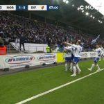 Norrköping's shocking lead! 1-0 Lauritsen 8'