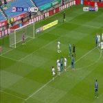 Wigan [1]-1 Swansea: Moore PK