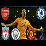 Raul Jimenez vs the best of the premier league