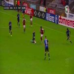 Roderick (Famalicão) straight red card for challenge on Wenderson Galeno (SC Braga)