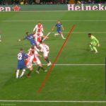 Chelsea - Ajax 2-4 is an offside goal