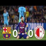Barcelona vs Slavia Prague [0-0], Champions League, Group Stage 2019/20 - MATCH REVIEW