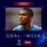 Douglas Costa wins UEFA Champions League Goal of the Week