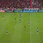 Flamengo 0 x 1 Bahia - Willian Arão (OG) 39'