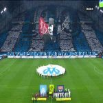 Marseille's tifo against Lyon