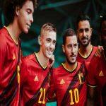 Belgium NT new home kit and logo