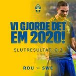 Sweden have qualified for Uefa Euro 2020