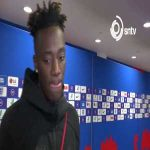 """Unacceptable..we don't need that"""" Tammy Abraham has condemned the England """"fans"""" who booed JoeGomez earlier."""