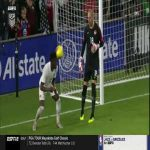 Alphonso Davies trick pass to the goalie vs USA