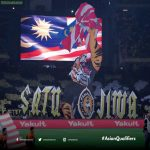 Passion shown by the Malaysian fans (Ultras Malaya) in today's World Cup Qualifying game against Indonesia at their home. FT Malaysia 2-0 Indonesia