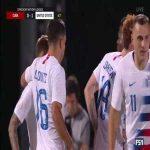 United States [1] - 0 Cuba: Josh Sargent goal
