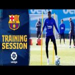Amazing skills from Dembele during training
