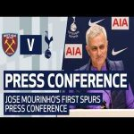 Jose Mourinho's first Tottenham Hotspur press conference