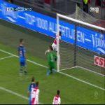 Ajax [1]-0 SC Heracles Quincy Promes 26'