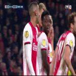 Ajax [3]-0 SC Heracles Quincy Promes 60'