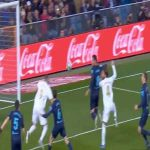 Benzema with a clinical shoulder finish (AA)
