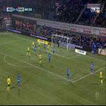 PEC Zwolle 2-[1] Fortuna Vitalie Damascan 89'
