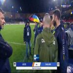 Lecce vs. Cagliari has officially been postponed due to downpours on the pitch. Referee Maurizio Mariani made the decision after the ball failed to bounce at all on the heavily waterlogged pitch.