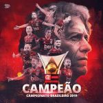 Less than 24 hours after winning the Copa Libertadores, Flamengo wins the Brasileirao and joins Pele's Santos (1963) as the only clubs to ever win both titles in the same year.