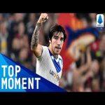 Sandro Tonali insane free kick