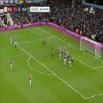 Aston Villa 2-0 Newcastle - El Ghazi 36'
