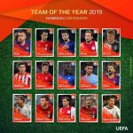 Champions League team of the year 2019, defenders nominees.