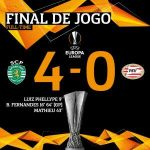Sporting CP have qualified for the Europa League knockout stage