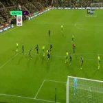 90' - Bernd Leno save vs Norwich