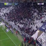 Bordeaux vs. Nîmes was temporarily suspended due to a group of Bordeaux ultras standing near the pitch in protest of their owners King Street and president Frédéric Longuépée