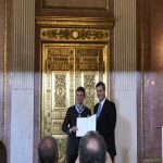 Thomas Müller was awarded the Bavarian Order of merit for his contributions to the state today. Bavarian minister-president Markus Söder wished Thomas Müller good luck at the Euros next summer including scoring the winning goal against France