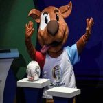 The Copa America's new mascot represents the dogs that invade football pitches around the continent