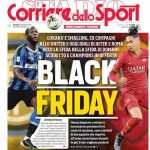 "AC Milan quote vs the Corriere Dello Sport headline: ""It is totally unacceptable to see such casual ignorance on racism. We will not stay silent on this issue."""