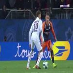 Great run by Neymar against Montpellier