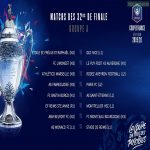 Coupe de France - Round of 64 Draw