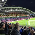 Picture I took of the rainbow tifo at Brighton v Wolves, better pictures are probably available online but thought I would post