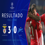 Benfica has qualified for the 2019/20 Europa League Round of 32