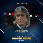 Tatiele Ferreira and Jorge Jesus are the 2019 Brasileirão Best Manager Award winners