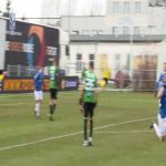 Amazing inside-the-box lob seen in the Polish Cup [pitch-level perspective] - Tymoteusz Puchacz of Lech Poznań