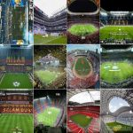 How many football stadiums have you been to around the world on match days/stadium tours? What has been your experience in each of them?
