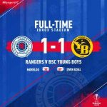 Rangers are through to the last 32 of the Europa League.
