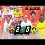 Barcelona Legends 2 x 0 Dortmund Legends Highlights (12/15/19)
