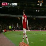 Mesut ozil reaction after being substituted