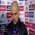Pep Guardiola Interview