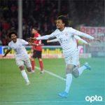 Joshua Zirkzee becomes the youngest Dutch player so score in the Bundesliga (18 years, 210 days)